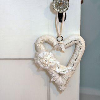 Heart-hanging